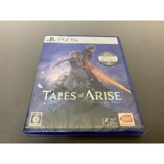 新品未開封 PS5 TALES of ARISE テイルズオブアライズ(家庭用ゲーム機本体)