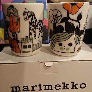 marimekko - 新品★限定★マリメッコmarimekkoラテマグカップセット★北欧★送料込