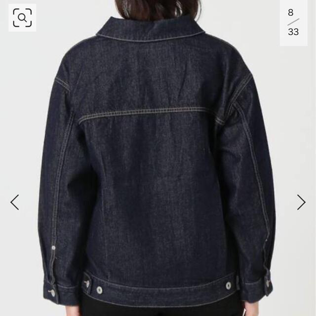IENA SLOBE(イエナスローブ)の新品 SLOBEIENA ビッグGジャン レディースのジャケット/アウター(Gジャン/デニムジャケット)の商品写真