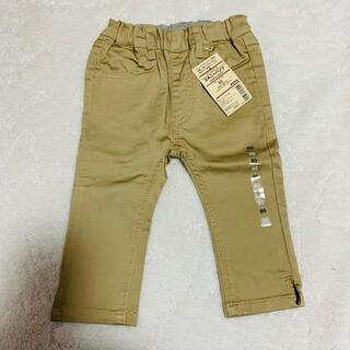 ムジルシリョウヒン(MUJI (無印良品))の新品 無印良品 サテンストレッチ スキニーパンツ 80(パンツ)