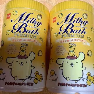 入浴剤ゆずの香り ポムポムプリン &ポムポムプリン ミニトートバッグ2点
