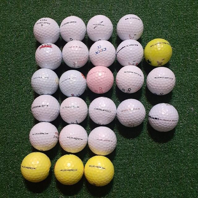 DUNLOP(ダンロップ)のゼクシオ ゴルフ ロストボール スポーツ/アウトドアのゴルフ(その他)の商品写真