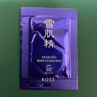 セッキセイ(雪肌精)の雪肌精 ホワイト UV エマルジョン 1.0g(乳液/ミルク)