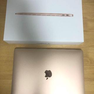 ほぼ新品☆ MacBook Air 2020 ゴールド USBドッグ付き!!