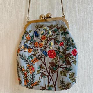 ZARA - ZARA  ザラ 刺繍バッグ チェーンバッグ ミニバッグ チェーンバッグ