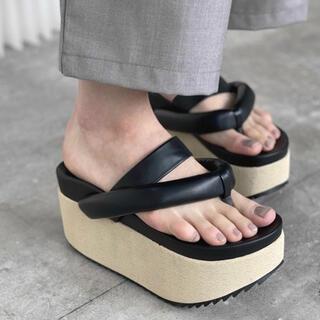 Jil Sander - chuclla Volume platform sandal