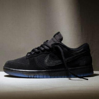 """NIKE - UNDEFEATED × NIKE DUNK LOW SP """"BLACK"""" 新品"""