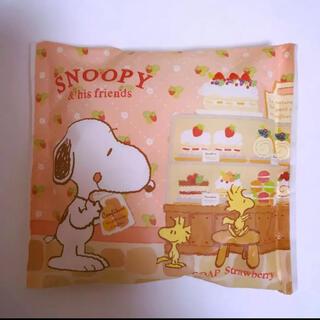 スヌーピー(SNOOPY)のスヌーピー 石鹸 アロマ ソープ ストロベリー(ボディソープ/石鹸)