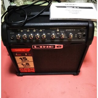 LINE6 SPIDER Ⅳ 15 ギターアンプ(ギターアンプ)