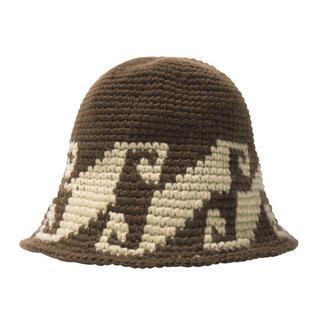 STUSSY - stussy waves knit bucket hat 新品未使用