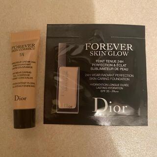 ディオール(Dior)のディオール ベースメイク サンプル2点(化粧下地)