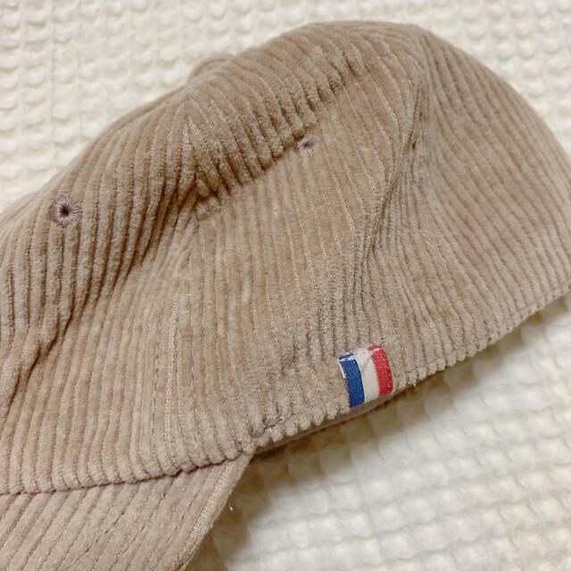 petit main(プティマイン)のテータテート コーデュロイキャップ キッズ/ベビー/マタニティのこども用ファッション小物(帽子)の商品写真