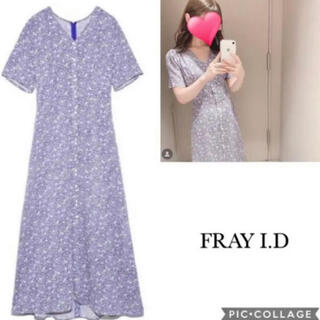 FRAY I.D - 深田恭子さん着用 FRAY I.D フレイアイディー フラワーナローワンピース