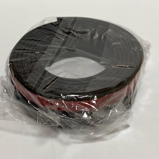 (黒)ハッチバック バックドア 静音モール 遮音 防音 静音化 防塵 防水 自動車/バイクの自動車(車外アクセサリ)の商品写真