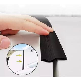 (黒)ハッチバック バックドア 静音モール 遮音 防音 静音化 防塵 防水