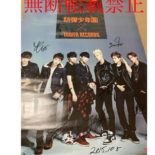 BTS サイン入りポスター