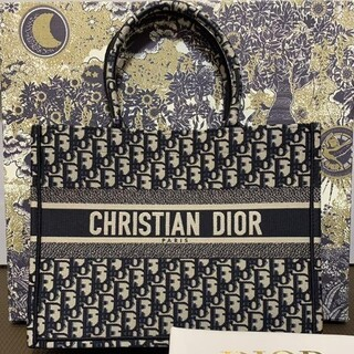 Dior - 【DIOR】ディオール ブックトート スモール ネイビー