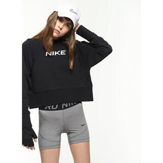 NIKE - 【新品】NIKE ナイキ L クロップト ルーズフィット スウェット 黒