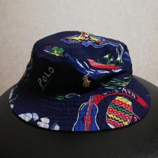 ポロラルフローレン(POLO RALPH LAUREN)のPOLO RALPH LAUREN バケットハット リバーシブル(帽子)