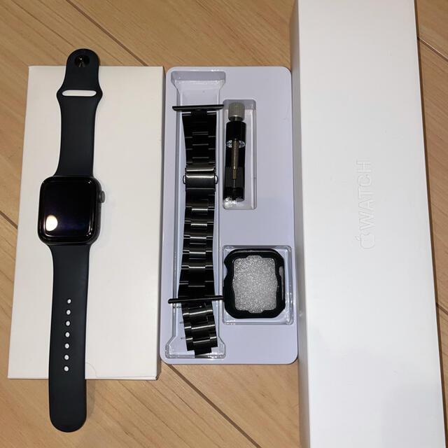 Apple Watch(アップルウォッチ)のApple Watch Series 6 GPSモデル 44mm スペースグレイ メンズの時計(腕時計(デジタル))の商品写真