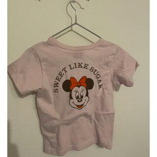 Disney - Disney 半袖 ミニーTシャツ 90cm