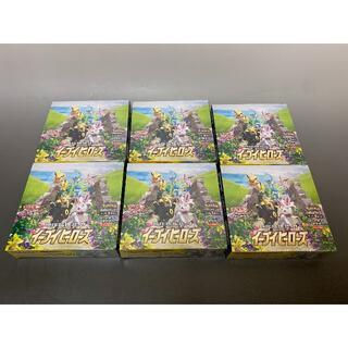 シュリンク付き!6箱 ポケモンカード イーブイヒーローズ 強化拡張パック (Box/デッキ/パック)