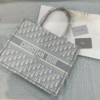Dior - クリスチャンディオール ブックトートバック グレー