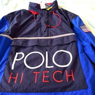 ポロラルフローレン(POLO RALPH LAUREN)の新品! POLO HI TECH ポロハイテック ジャケット ラルフローレン(ナイロンジャケット)