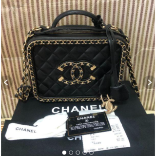 CHANEL - CHANEL 大人気バニティ チェーンバッグ