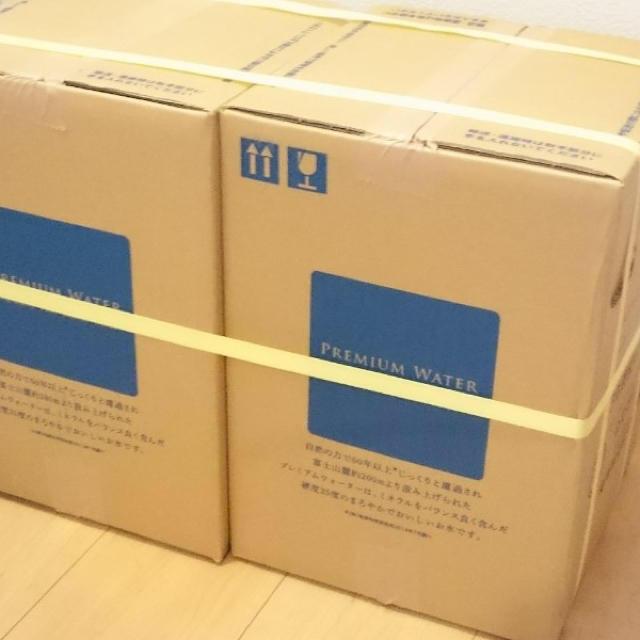 プレミアムウォーター12L2箱セット 食品/飲料/酒の飲料(ミネラルウォーター)の商品写真