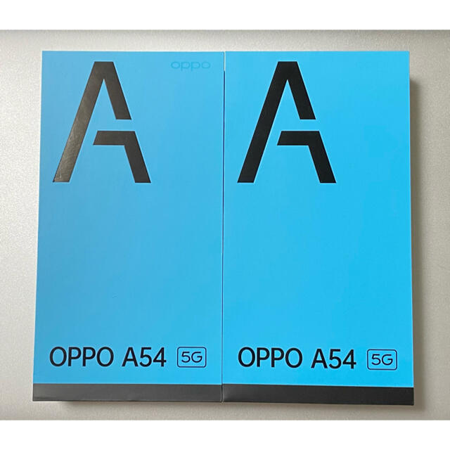 ANDROID(アンドロイド)のOPPO  A54 5G   新品未使用 2台 スマホ/家電/カメラのスマートフォン/携帯電話(スマートフォン本体)の商品写真