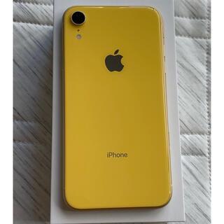 Apple - SIMフリー iPhone XR 64GB 黄色 イエロー 格安SIM対応 au