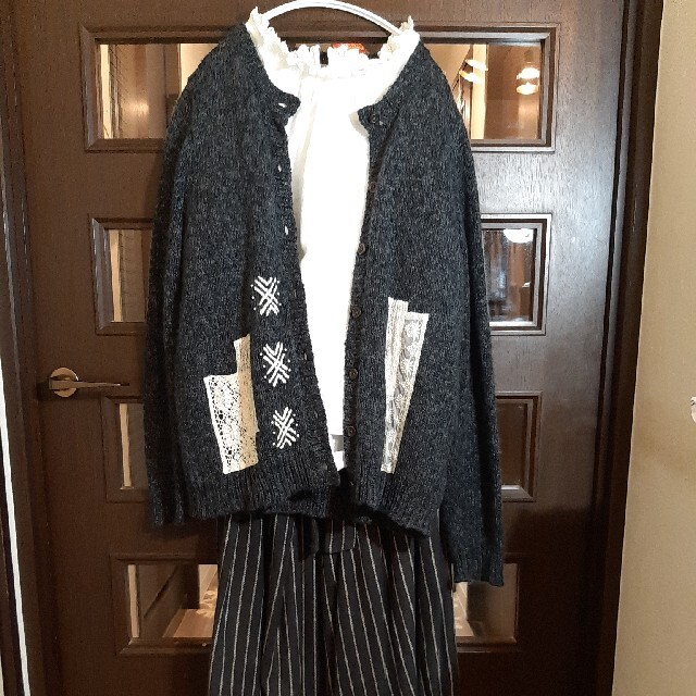 SM2(サマンサモスモス)の特価❗サマンサモスモス襟袖口レースブラウス レディースのトップス(シャツ/ブラウス(半袖/袖なし))の商品写真