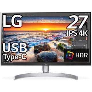 LG Electronics - LG モニターディスプレイ 27UK850-W 27インチ4K/HDR/IPS