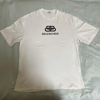 バレンシアガ(Balenciaga)のBalenciaga バレンシアガ Tシャツ M ホワイト白(Tシャツ/カットソー(半袖/袖なし))