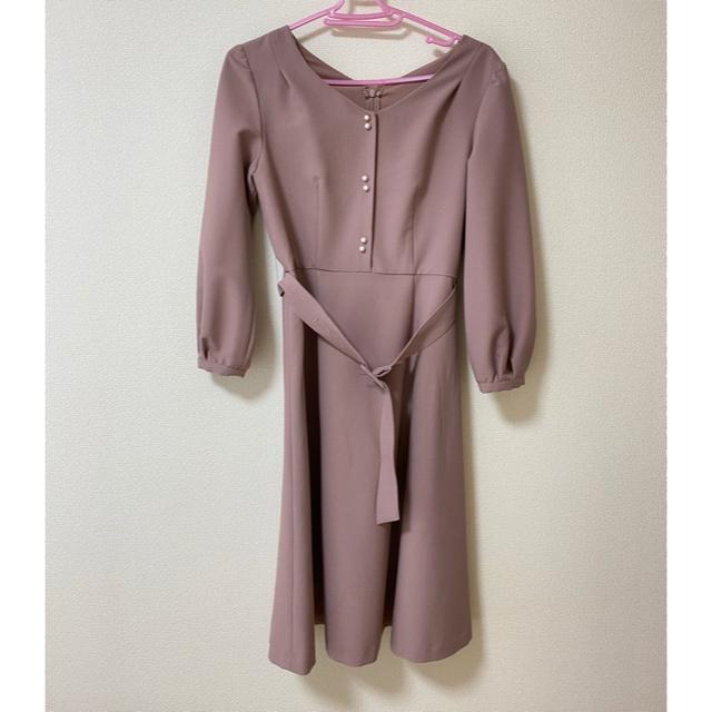 PROPORTION BODY DRESSING(プロポーションボディドレッシング)のおはぎ様専用 フロント釦フレアワンピース レディースのワンピース(ひざ丈ワンピース)の商品写真