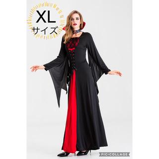 セット コスプレ ハロウィン セクシー 大人 ウィッチ 小悪魔 黒 淫魔 女王(衣装一式)