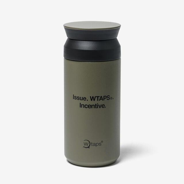 W)taps(ダブルタップス)のWTAPS H2O 350ML / BOTTLE / STEEL. KINTO インテリア/住まい/日用品のキッチン/食器(タンブラー)の商品写真