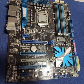 エイスース(ASUS)のi5 760 2.8GHz & P7P55D マザーボードのセット(PCパーツ)