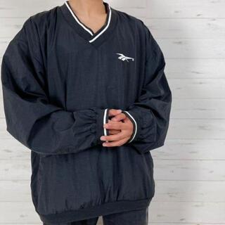 リーボック(Reebok)の《旧タグ90s》Reebok リーボック XL☆プルオーバーナイロンジャケット(ナイロンジャケット)