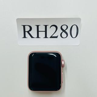 アップルウォッチ(Apple Watch)の中古美品Apple Watch Series 2 38ミリ RH280(腕時計(デジタル))