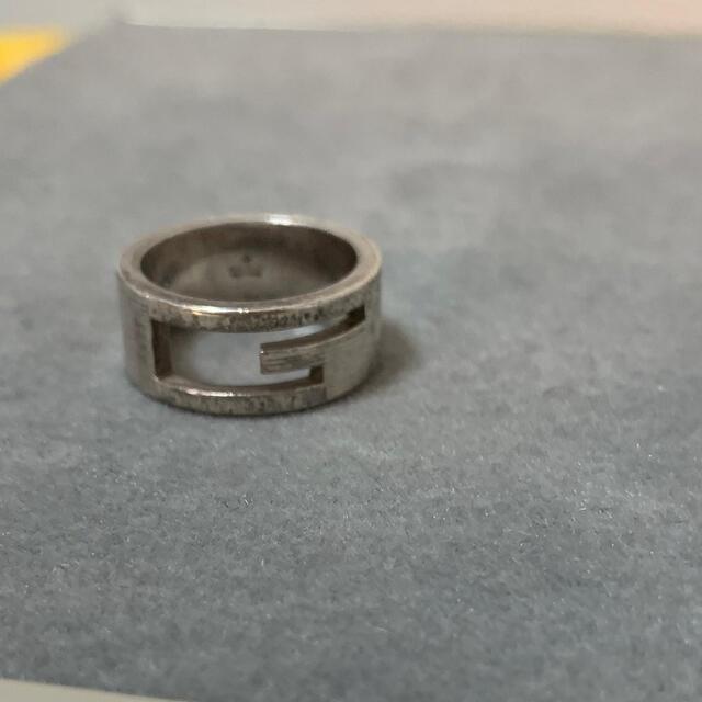 Gucci(グッチ)の【ひらりん@OORer様専用】GUCCI 指輪 11号 メンズのアクセサリー(リング(指輪))の商品写真