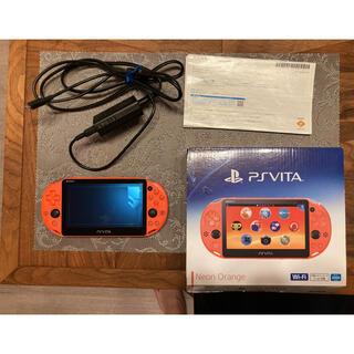 PlayStation Vita - SONY psvita 本体 PCH-2000 ネオンオレンジ