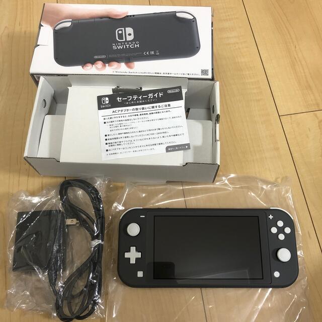 Nintendo Switch(ニンテンドースイッチ)の最終値下げ‼️任天堂Switchライト グレー エンタメ/ホビーのゲームソフト/ゲーム機本体(家庭用ゲーム機本体)の商品写真