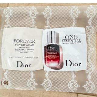 ディオール(Dior)のDIOR 美容液&下地サンプルセット(化粧下地)