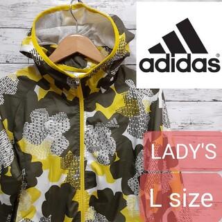 adidas - ✨人気✨ adidas(アディダス) レディース ウィンドブレーカー Lサイズ