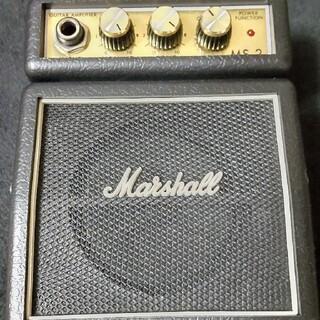 貴重 プレミア Marshall MS-2 ギターアンプ アンティーク ミニ(ギターアンプ)