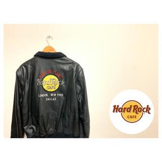 ロックハード(ROCK HARD)のハードロックカフェ Hard Rock Cafe レザージャケット(レザージャケット)