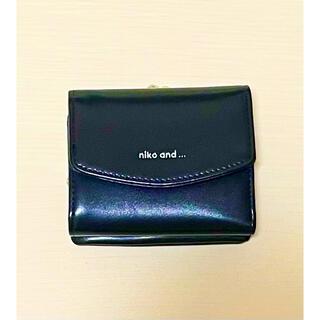 ニコアンド(niko and...)のnico and... オリジナルロゴ三つ折り財布(財布)