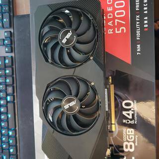 エイスース(ASUS)のASUS  AMD RADEON RX5700 8GB (PCパーツ)